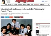 The Zombies in Rolling Stone Magazine!!