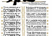 Water Seed - Keeping Secrets Tour