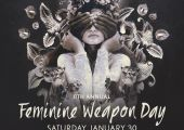 WeDeepen Club Presents The 8th Edition of Feminine Weapon Jan 30th