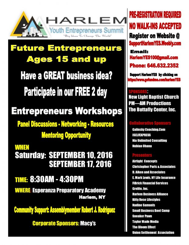 Youth Entrepreneur 2016 Participant Flyer-2
